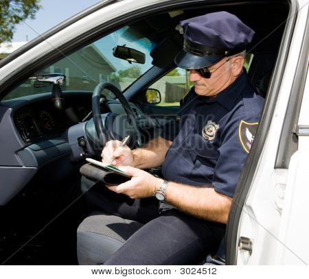 Police - Time For A Ticket