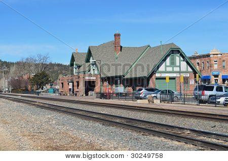 Flagstaff, AZ passenger train station
