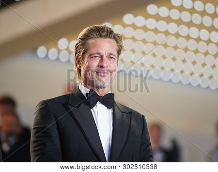Brad Pitt attends the screening of