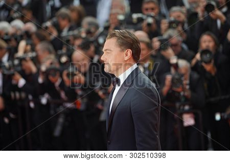 Leonardo DiCaprio attends the screening of