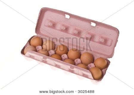 Dozen Carton Of Eggs