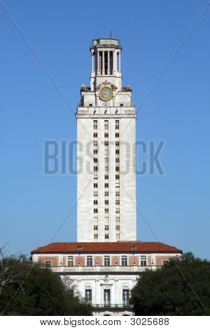Ut Tower In Austin, Texas