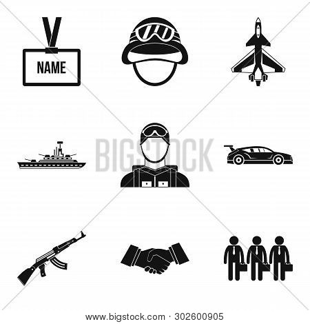 Seizure Icons Set. Simple Set Of 9 Seizure Icons For Web Isolated On White Background