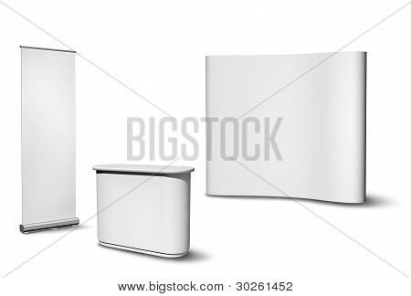 Blank Exhibition Equipment