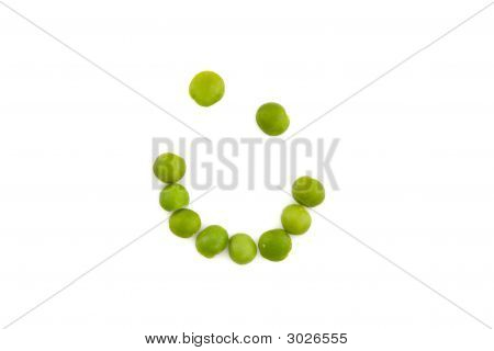 Smiley Peas - Healthy Eating