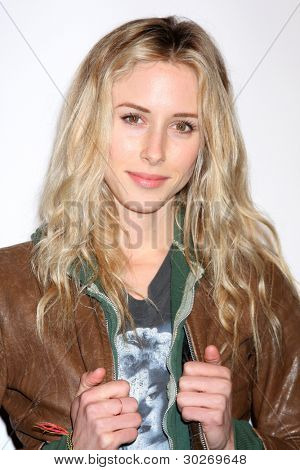 LOS ANGELES - FEB 19:  Gillian Zinser arrives at the 2nd Annual Hollywood Rush at the Wilshire Ebell on February 19, 2012 in Los Angeles, CA.