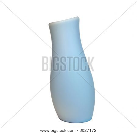 Blue Vase With An Inclination