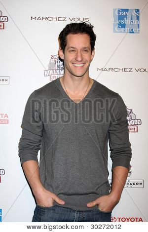 LOS ANGELES - FEB 19:  Jeremy Glazer arrives at the 2nd Annual Hollywood Rush at the Wilshire Ebell on February 19, 2012 in Los Angeles, CA.