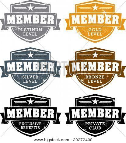 Private Membership Badges