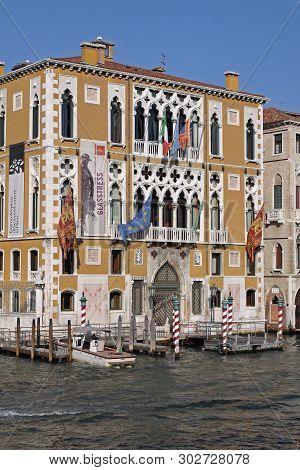 Venice, Italy - September 25, 2009: Accademia In Venezia, Italy.