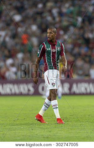 Rio, Brazil - May 23, 2019: Joao Pedro Player In Match Between Fluminense (bra) And Atletico Naciona