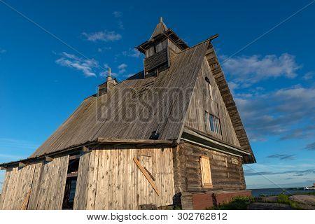 Kem, Republic Of Karelia, Russia - June 24, 2018: Church Decoration For The Film