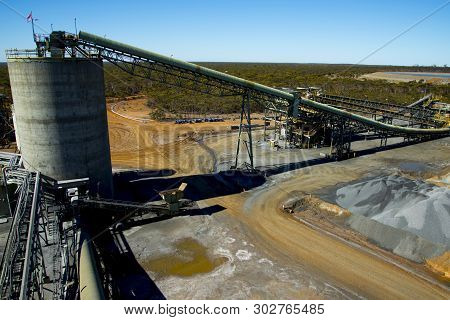 Mining Mineral Process Plant In The Field