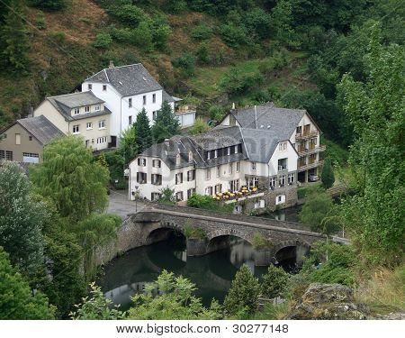 Esch-sur Sure And Bridge