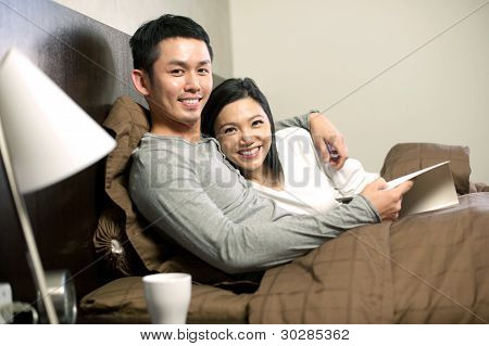 Asian Couple Lifestyle