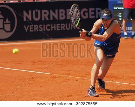 Nuremberg, Germany - May 24, 2019: Rumanian Tennis Player Sorana Cirstea At The Euro 250.000 Wta Ver