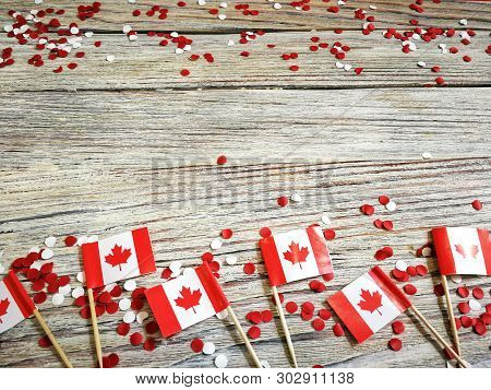 The National Holiday Of July 1- Happy Canada Day , Dominion Day, The Concept Of Patriotism, Independ