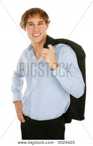 Young Businessman - Confident