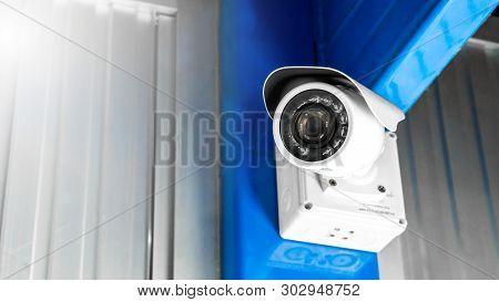 Cctv Surveillance Security Camera Video Equipment Concept - Cctv Surveillance Security Camera Inside