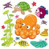 Cute Sea Life poster