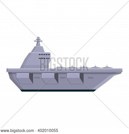 Aircraft Carrier Equipment Icon. Cartoon Of Aircraft Carrier Equipment Vector Icon For Web Design Is