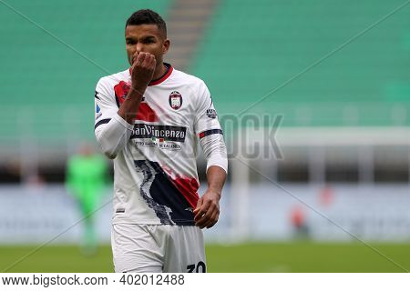 Milano, Italy. 03th January 2021. Junior Messias Of Fc Crotone  During The Serie A Match Between Fc