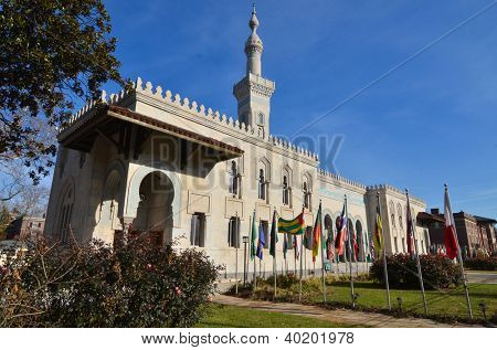 Washington DC, Islamic Center on Massachusetts Avenue poster
