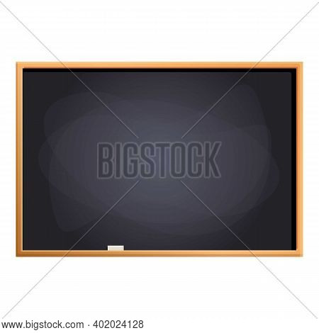 Teacher Chalkboard Icon. Cartoon Of Teacher Chalkboard Vector Icon For Web Design Isolated On White