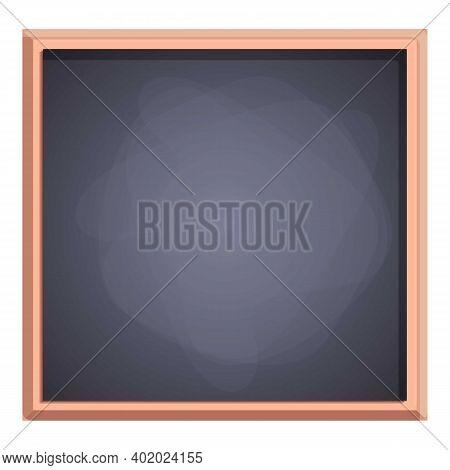 Teach Chalkboard Icon. Cartoon Of Teach Chalkboard Vector Icon For Web Design Isolated On White Back