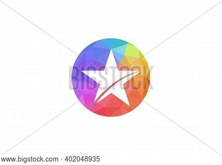 Luxury Gold Star Logo Designs Template, Elegant Star Logo Designs. Star Logo Template Vector Icon Il