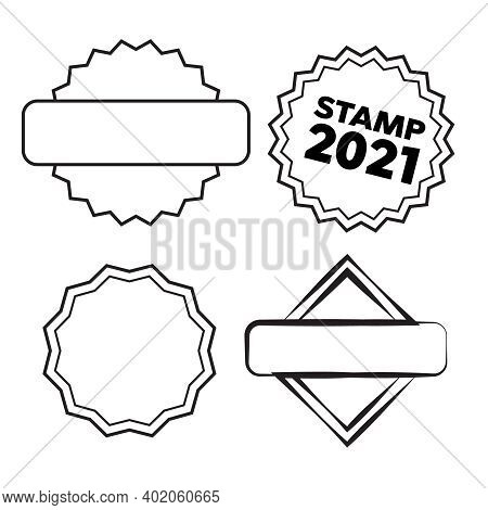 The Design Of The Old Round Stamps For Sale. Grunge Rubber Stamp. Circle Stamps