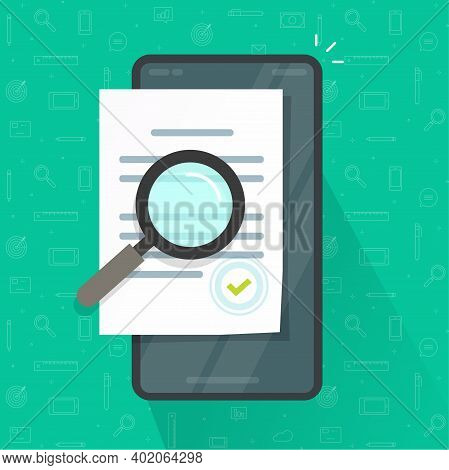 Expertise Document Inspection Via Mobile Phone Online, Digital Compliance Review, Assessment Evaluat