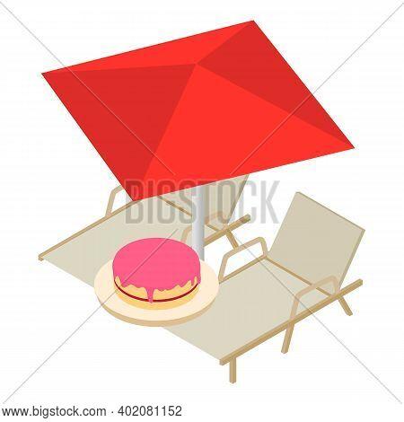 Romantic Getaway Icon. Isometric Illustration Of Romantic Getaway Vector Icon For Web