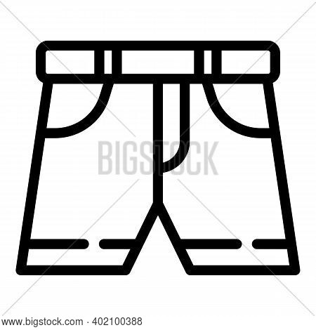 Education Uniform Icon. Outline Education Uniform Vector Icon For Web Design Isolated On White Backg