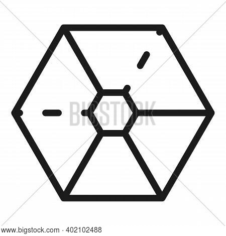 Hierarchy Department Icon. Outline Hierarchy Department Vector Icon For Web Design Isolated On White