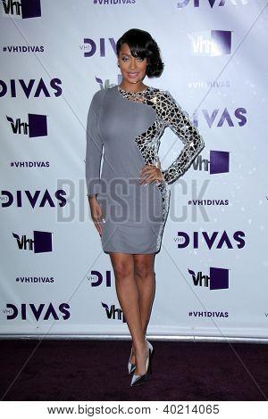 LOS ANGELES - DEC 16:  Lala Vasquez arriving at the VH1 Divas Concert 2012 at Shrine Auditorium on December 16, 2012 in Los Angeles, CA