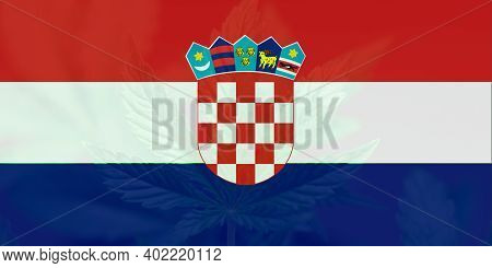 Medical Cannabis In The Croatia. Weed Decriminalization In Croatia. Cannabis Legalization In The Cro