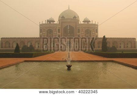 Humayun Tomb in Delhi, India