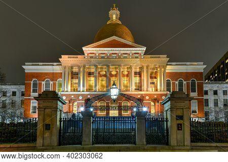 Massachusetts State House - Boston.