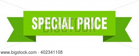 Special Price Ribbon. Special Price Isolated Band Sign. Special Price Banner