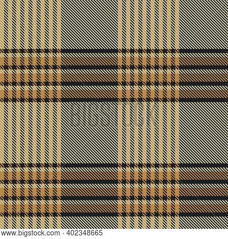 Brown Asymmetric Plaid Textured Seamless Pattern