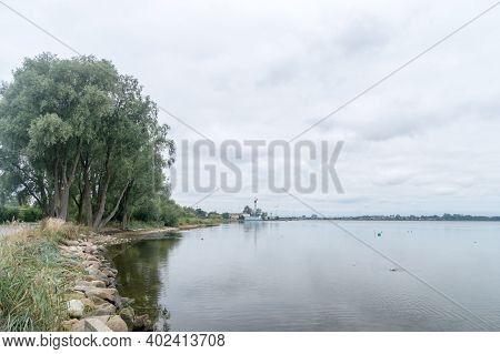 Bay Of Puck Or Puck Bay. View In Puck, Poland.