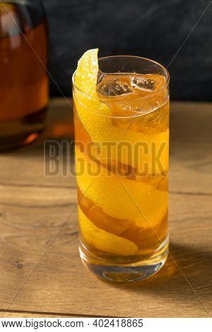 Boozy Refreshing Horses Neck Cocktail