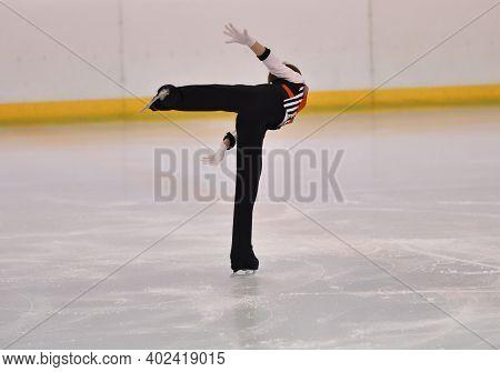 Boy Figure Skating