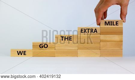 Live To Tell The Tale Symbol. Wooden Blocks Stacking As Step Stair On Beautiful White Background, Co