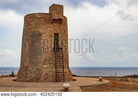 Torre D'ivan Torre Nova Tower Cala Santanyí Mallorca Spain.