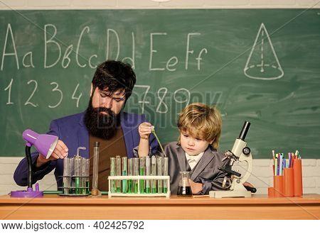 Cognitive Skills. Back To School. Chemistry Experiment. Teacher Child Test Tubes. Cognitive Process.