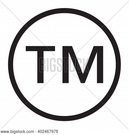Trademark Icon. Simple Element From Intellectual Property Collection. Filled Trademark Icon For Temp
