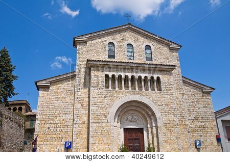 Church of St. Lucia. Amelia. Umbria. Italy.