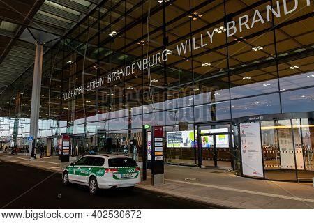 Schönefeld, Germany - Emergency Vehicle Of The German Customs At Berlin Brandenburg International Ai